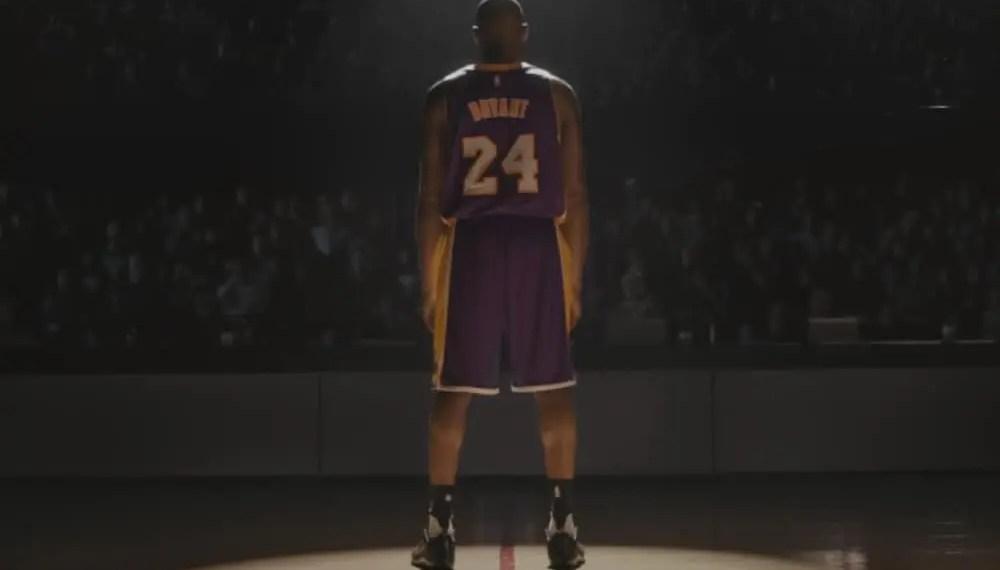 Nike publie un texte d'hommage à Kobe Bryant