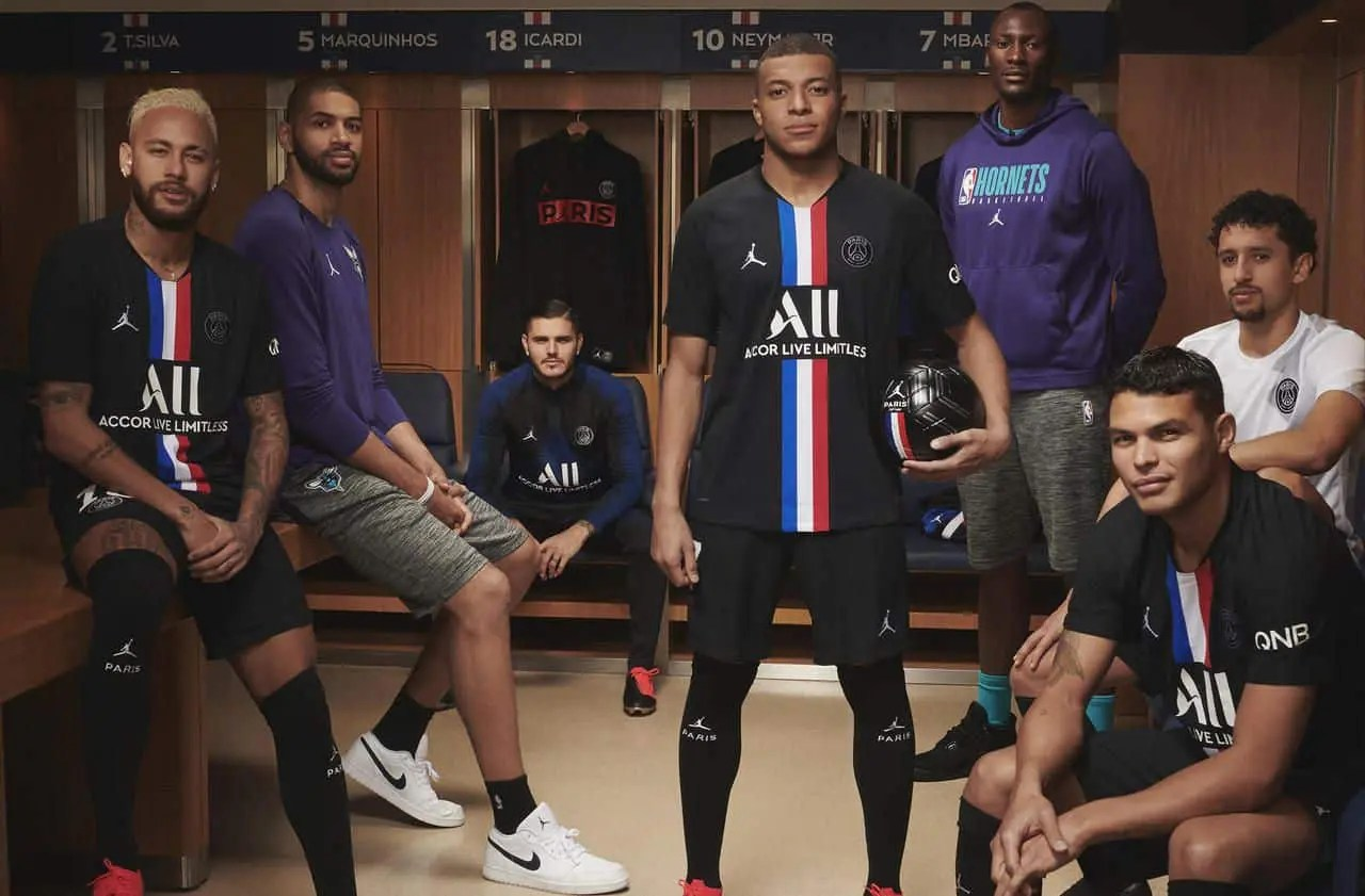 PSG x Jordan, le 4e maillot du club français officialisé