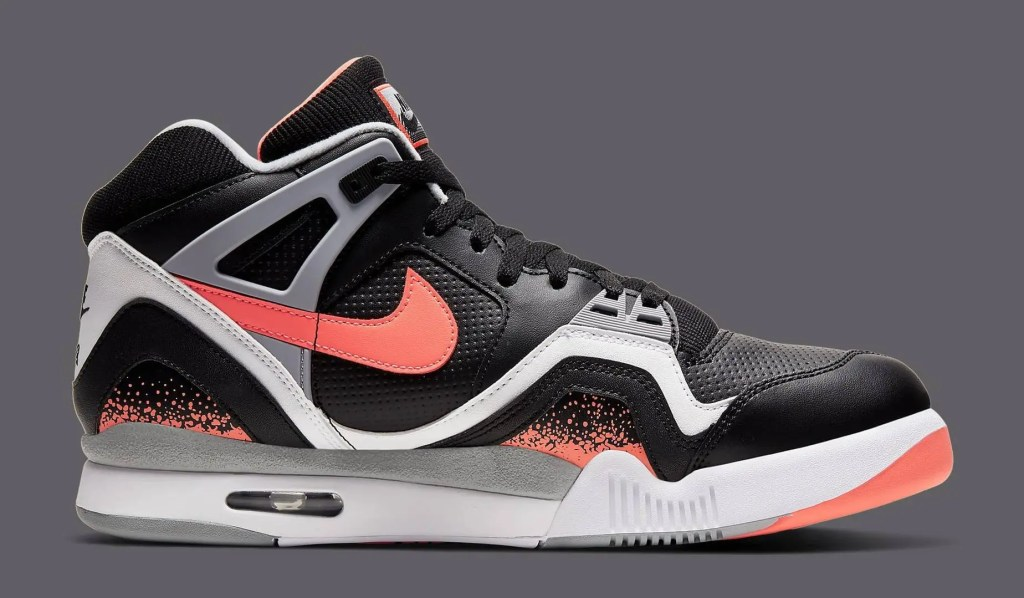 Nike Air Tech Challenge II Black Lava 3