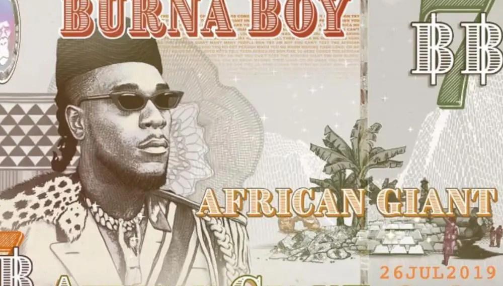 "Burna Boy revienun nouveau clip vidéo ""Odogwu"""