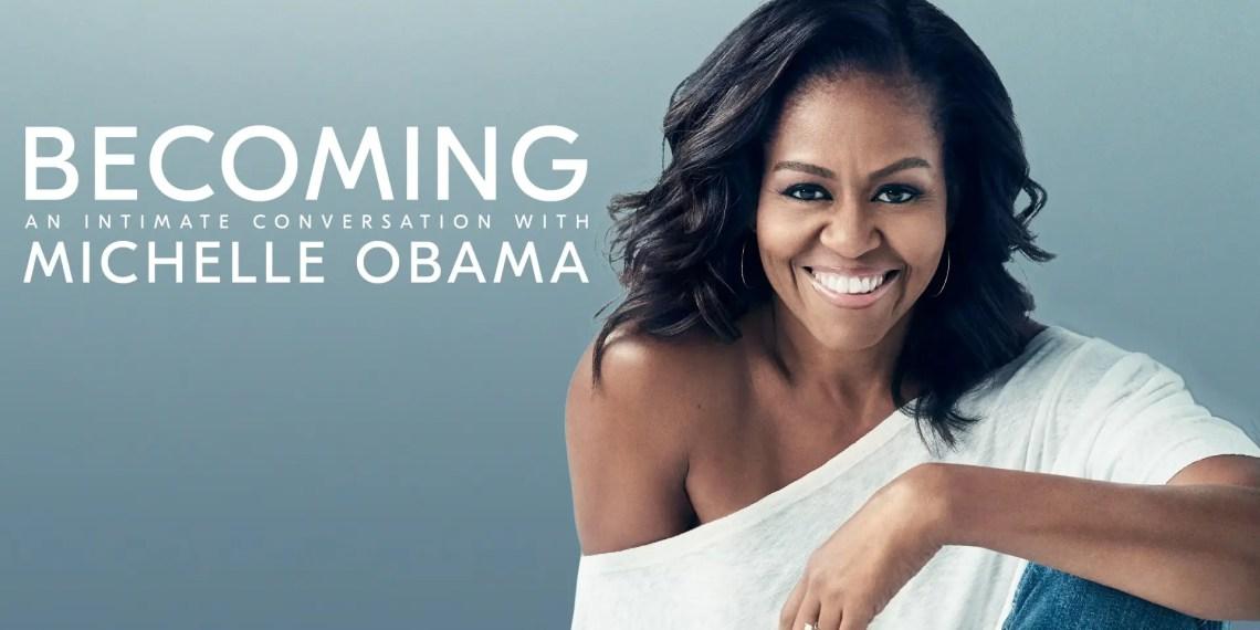 """""""Becoming"""" de Michelle Obama bientôt sur Netflix"""