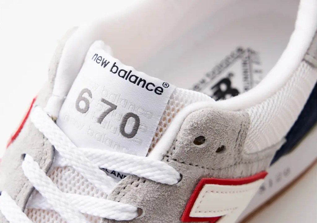 Un pack Oshman x New Balance «Athletic PacOshman x New Balance «Athletic Pack» 670