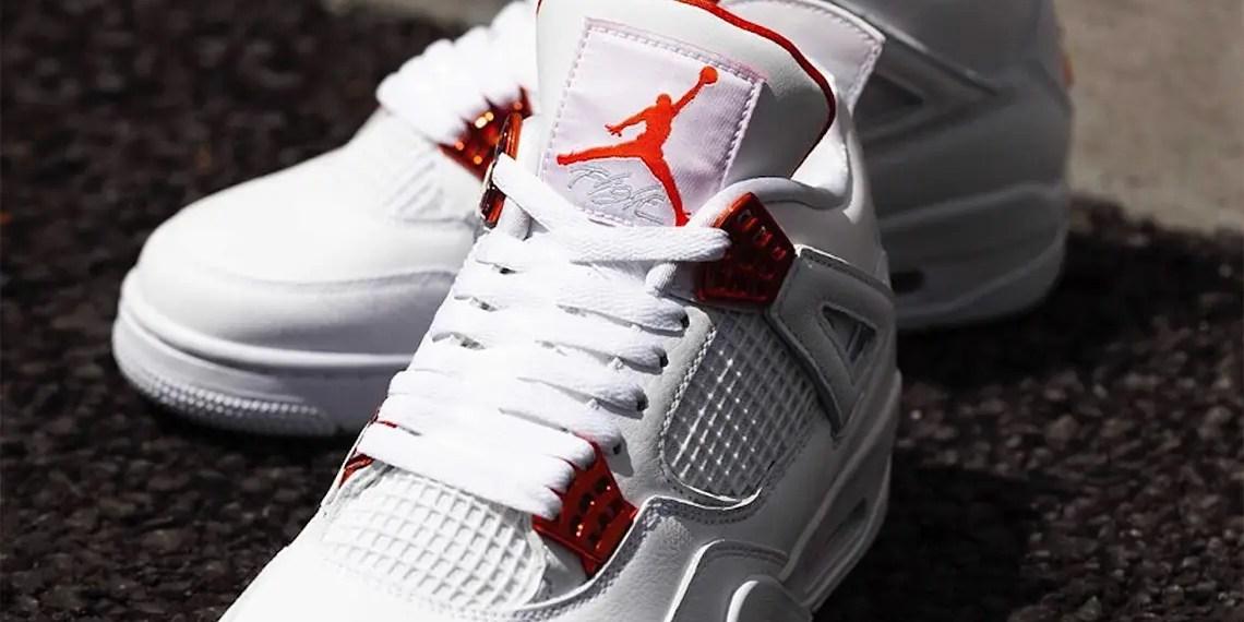 La Air Jordan 4 « Metallic Orange » est prévue pour le mois de mai