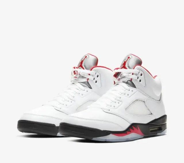 Où acheter la Air Jordan 5 «Fire Red»?