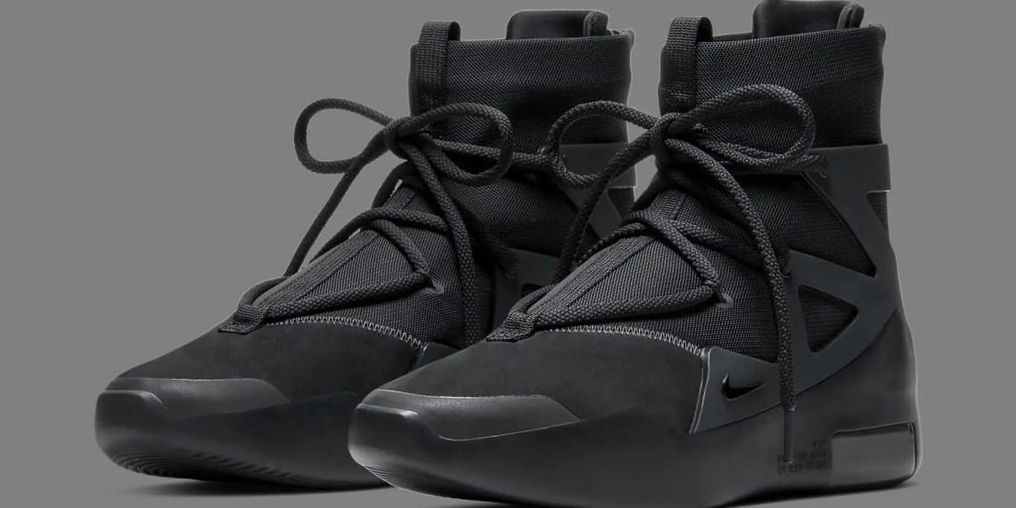 Où acheter la Nike Air Fear of God 1 Triple Black?
