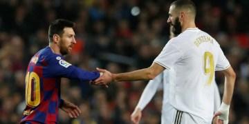 Messi - Benzema - Liga