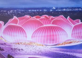 Guangzhou sur le point de construire le plus grand stade de foot