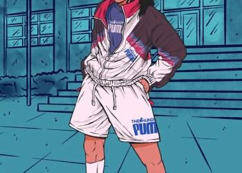 """Baptisée """"Cliques"""", la dernière offre des partenaires présente le style des années 90 des lycées et l'évolution du streetwear au cours des trois dernières décennies."""