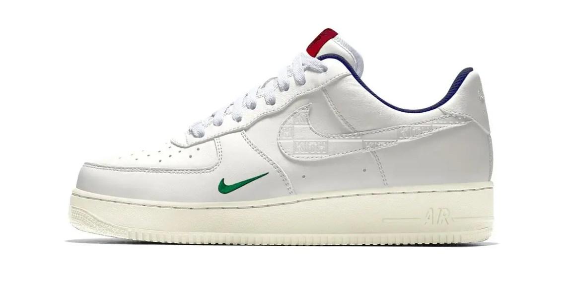 Kith va lancer une raffle de charité pour sa Nike Air Force 1