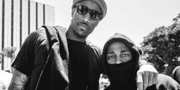 Kendrick Lamar, Russell Westbrook & DeMar DeRozan manifestent à Compton