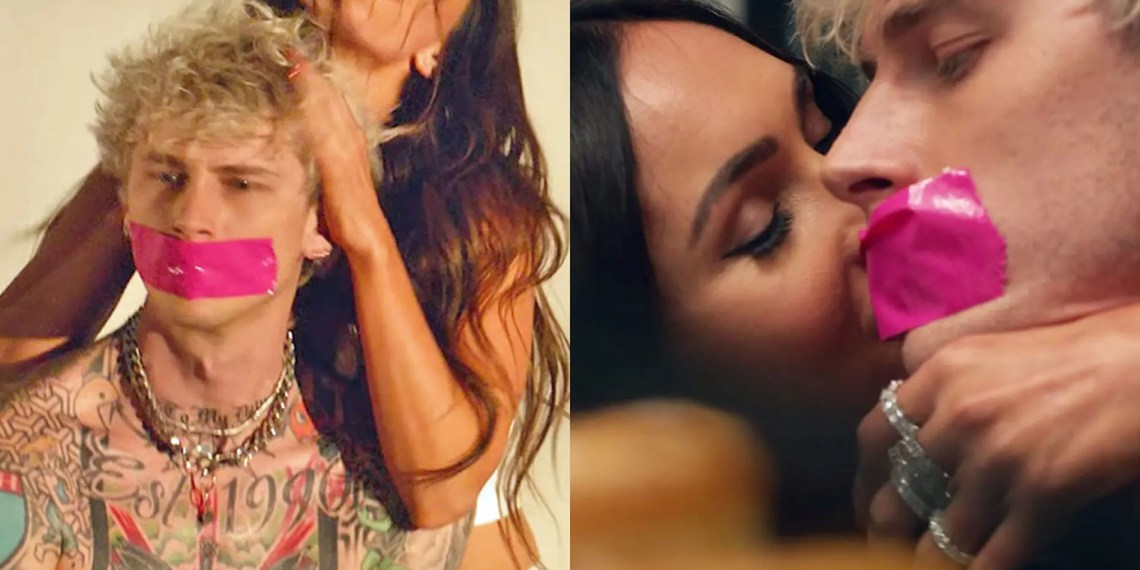 Machine Gun Kelly & Megan Fox repérés en train de s'embrasser