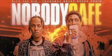 "NBA YOUNGBOY & RICH THE KID ANNONCENT LE PROJET COMMUN ""NOBODY SAFE"""
