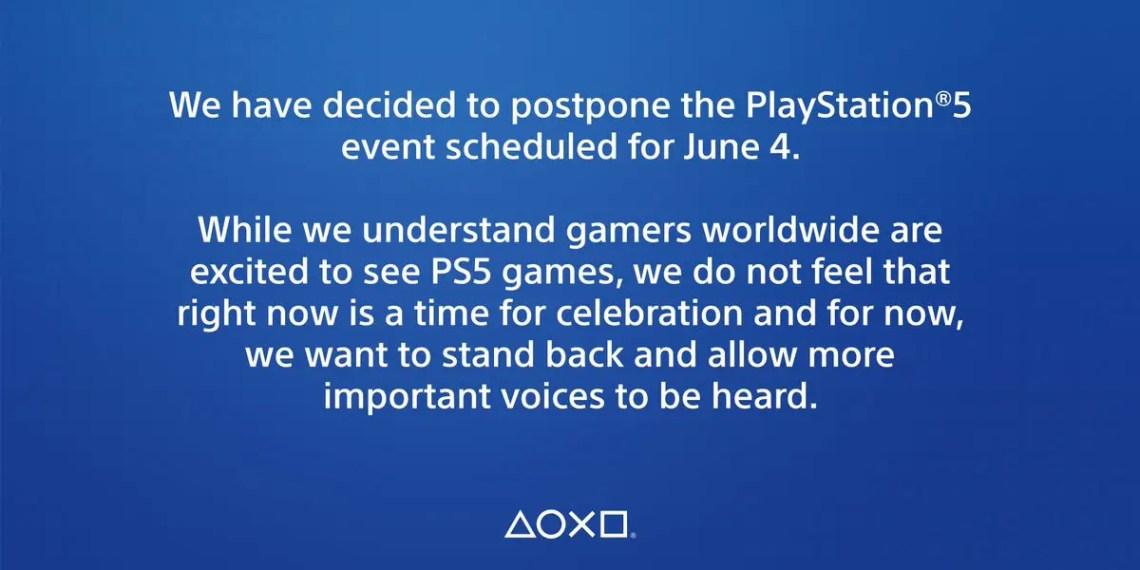 Sony et EA reportent les événements de la PlayStation 5