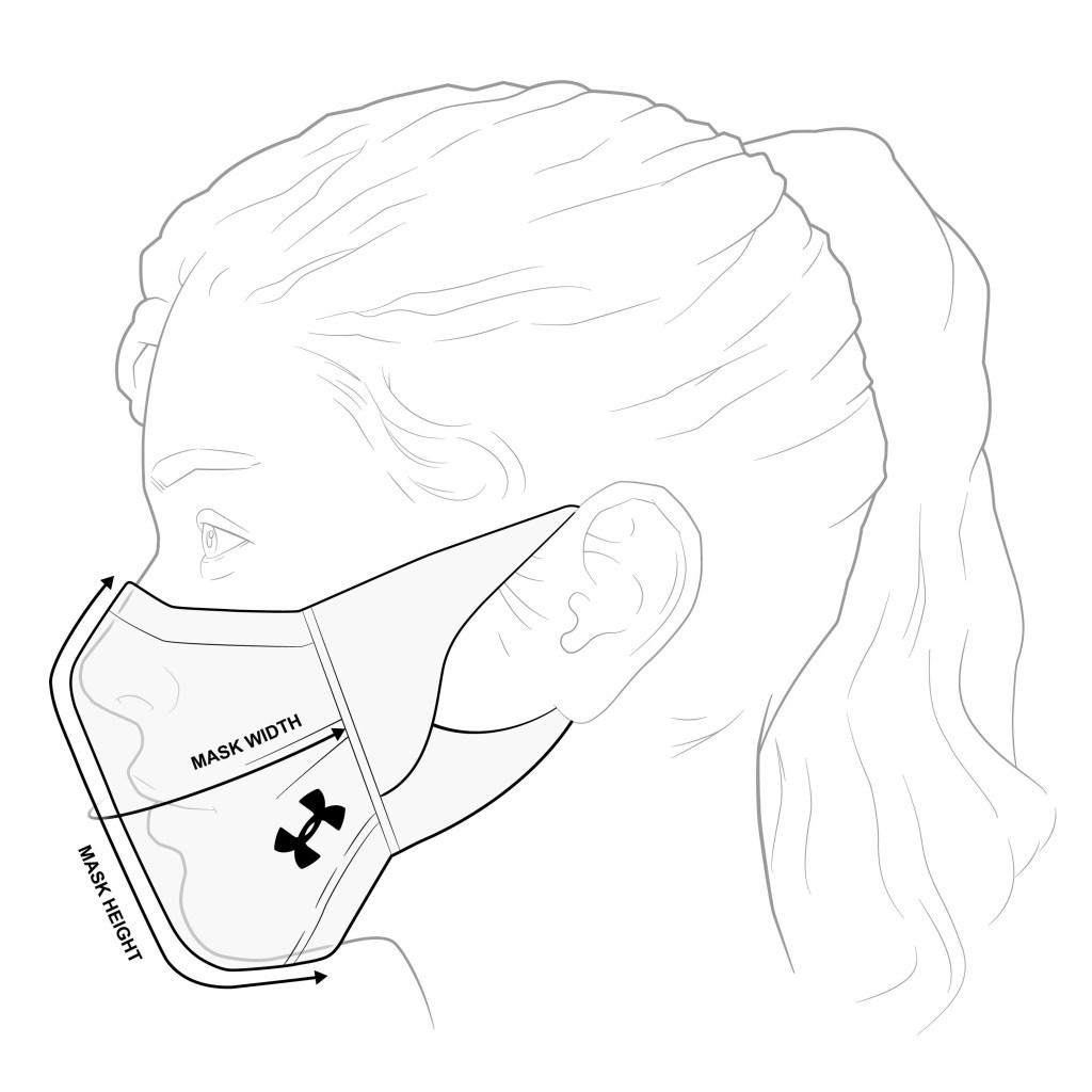 Le UA SPORTSMASK, premier modèle en son genre, vise à réduire la propagation des particules respiratoires par le porteur.