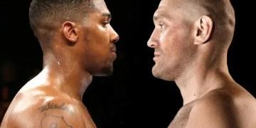 Tyson Fury accepte de se battre en 2021 contre Anthony Joshua