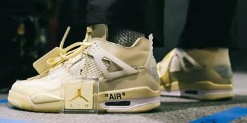 Off-White x Air Jordan 4 : La date de sortie potentielle dévoilée