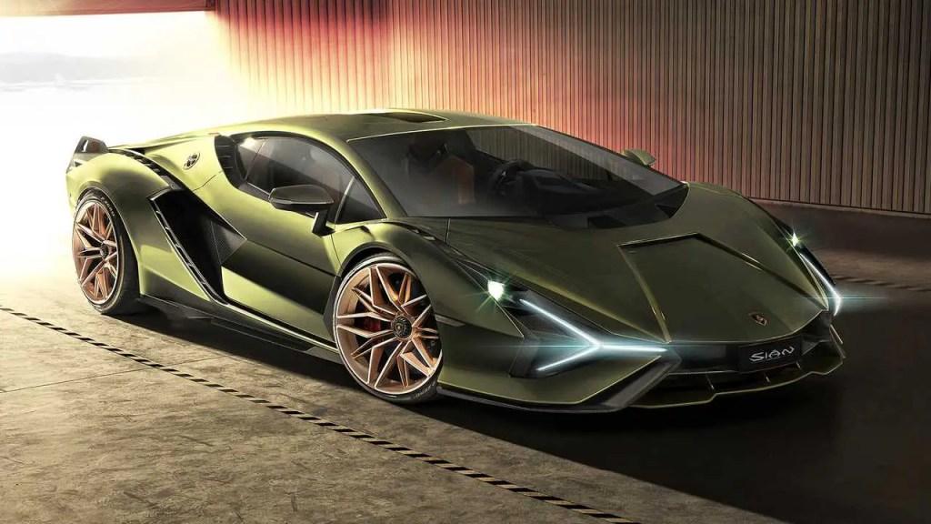 Lamborghini Sian FKP 37 2020