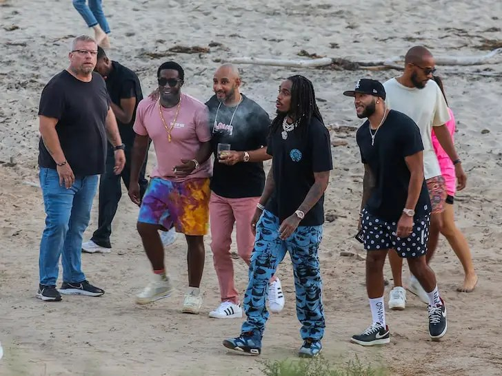 Diddy, Travis Scott, Nas, Swizz Beatz et Quavo pour célébrer la Black Excellence