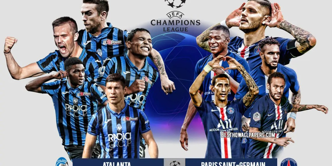 Regarder Atalanta vs PSG en streaming live gratuitement