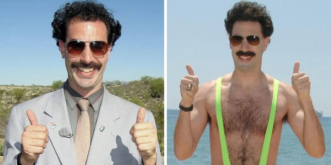"""""""Borat 2"""" : Oui vous ne revez pas aurait été filmé !"""