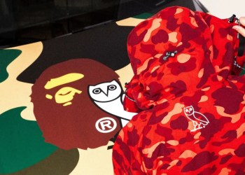 On connait la date de sortie de la collection OVO x BAPE de Drake