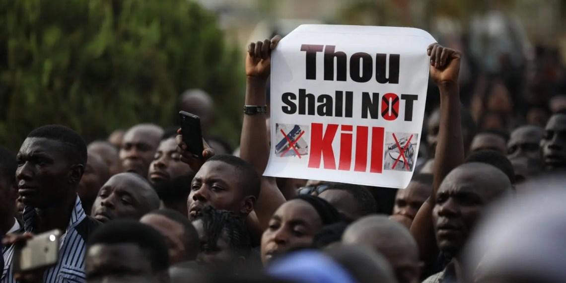 Les SRAS : Voici pourquoi des milliers de Nigérians protestent en ce moment