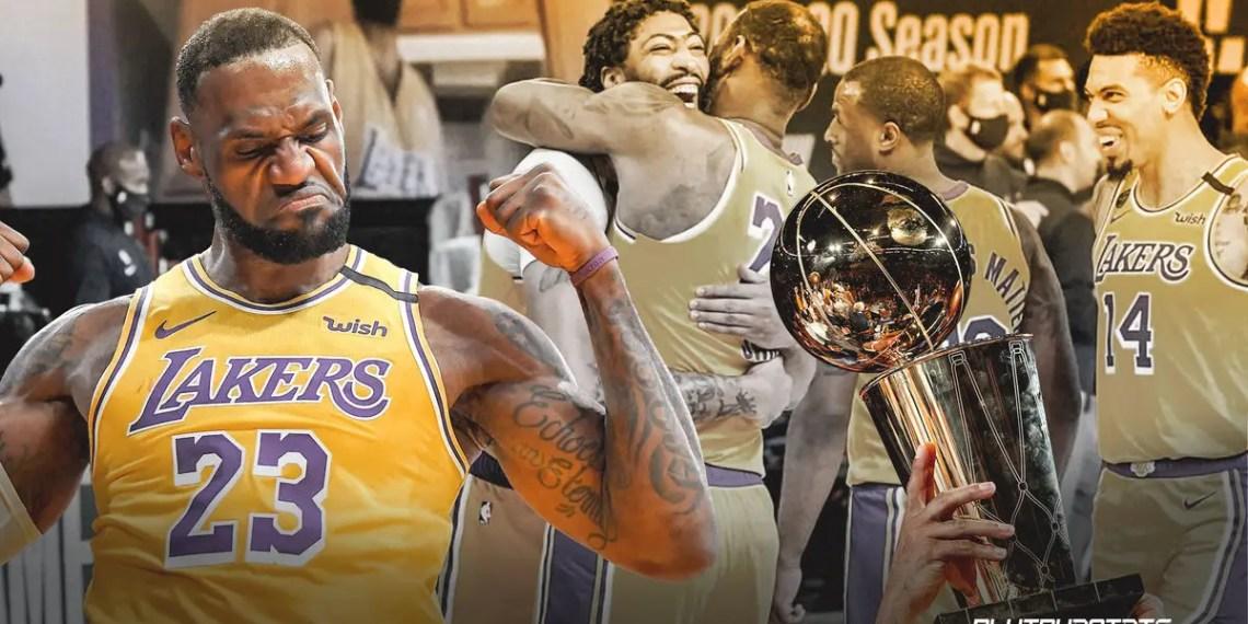 Les Los Angeles Lakers et Lebron Remportent la Finale NBA !