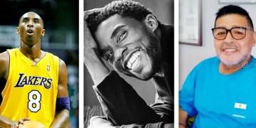 """Chadwick Boseman, Kobe Bryant sont parmi les posts les plus """"Likes"""" sur Instagram en 2020"""