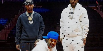 Dipset représente la collection Kith x Nike New York Knicks
