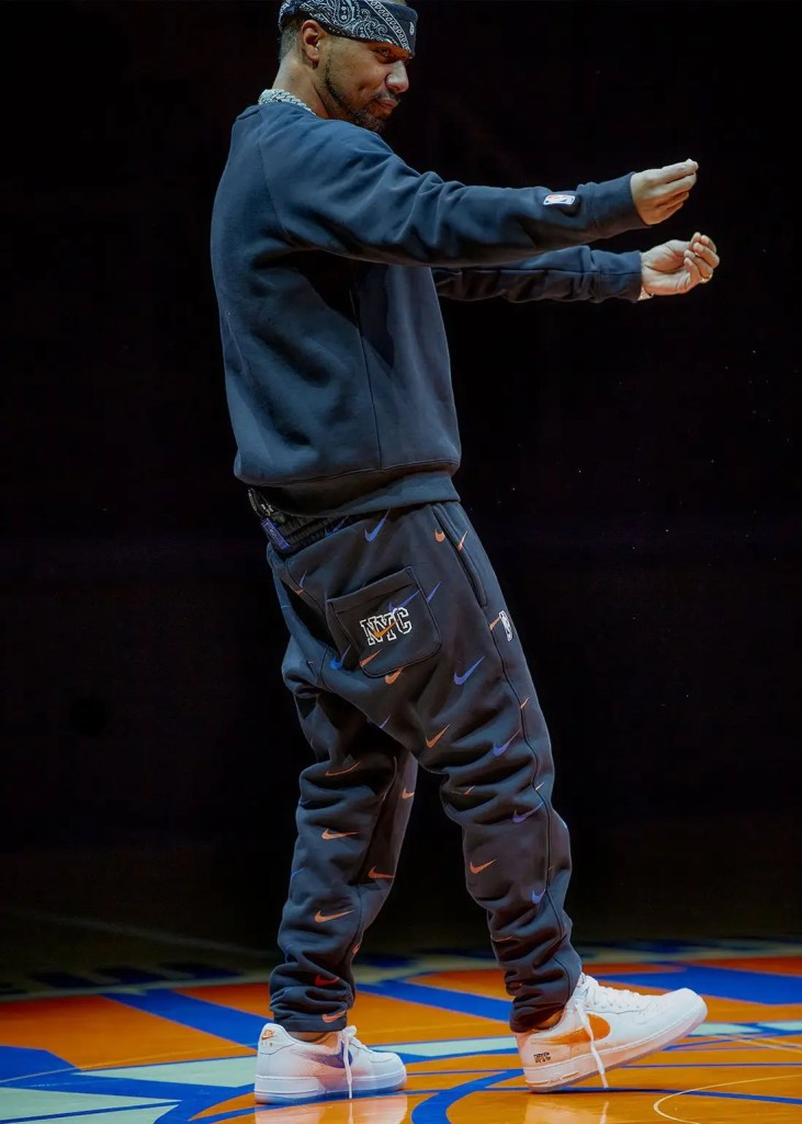 Dipset représente la collection Kith x Nike New York Knicks