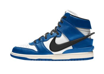 La nouvelle paire de Nike X Ambush - Deep Royal Blue
