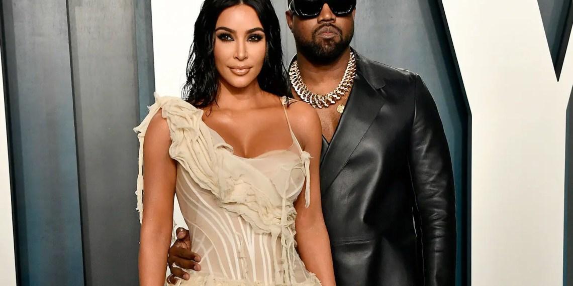 """Kim Kardashian et Kanye West divorcent : """"Elle abandonne""""."""