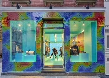 Louis Vuitton ouvre un pop-up store à Paris !