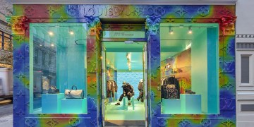 Louis Vuitton ouvre un pop-up store à Paris !