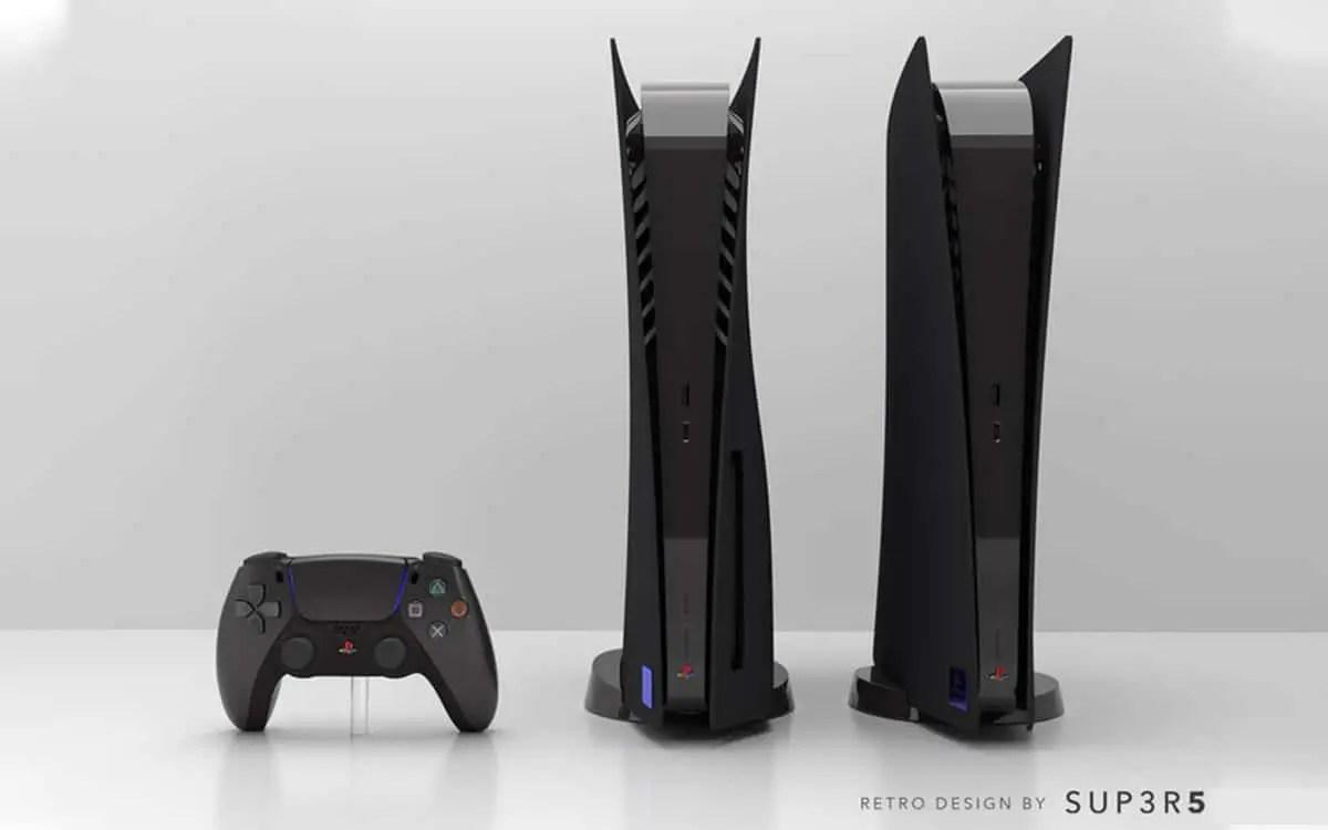 Bonne nouvelle; pour les joueurs n'ayant pas trouvé leurs bonheurs avec le coloris blanc de la console. Un coloris noir inspiré du design PS2 devrait bientôt arriver
