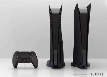 Bonne nouvelle ; pour les joueurs n'ayant pas trouvé leurs bonheurs avec le coloris blanc de la console. Un coloris noir inspiré du design PS2 devrait bientôt arriver…