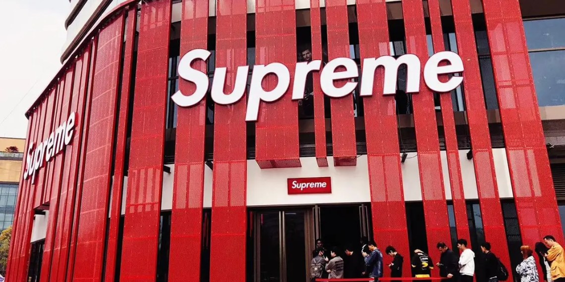 Des promos intéressantes sur le site de Supreme !