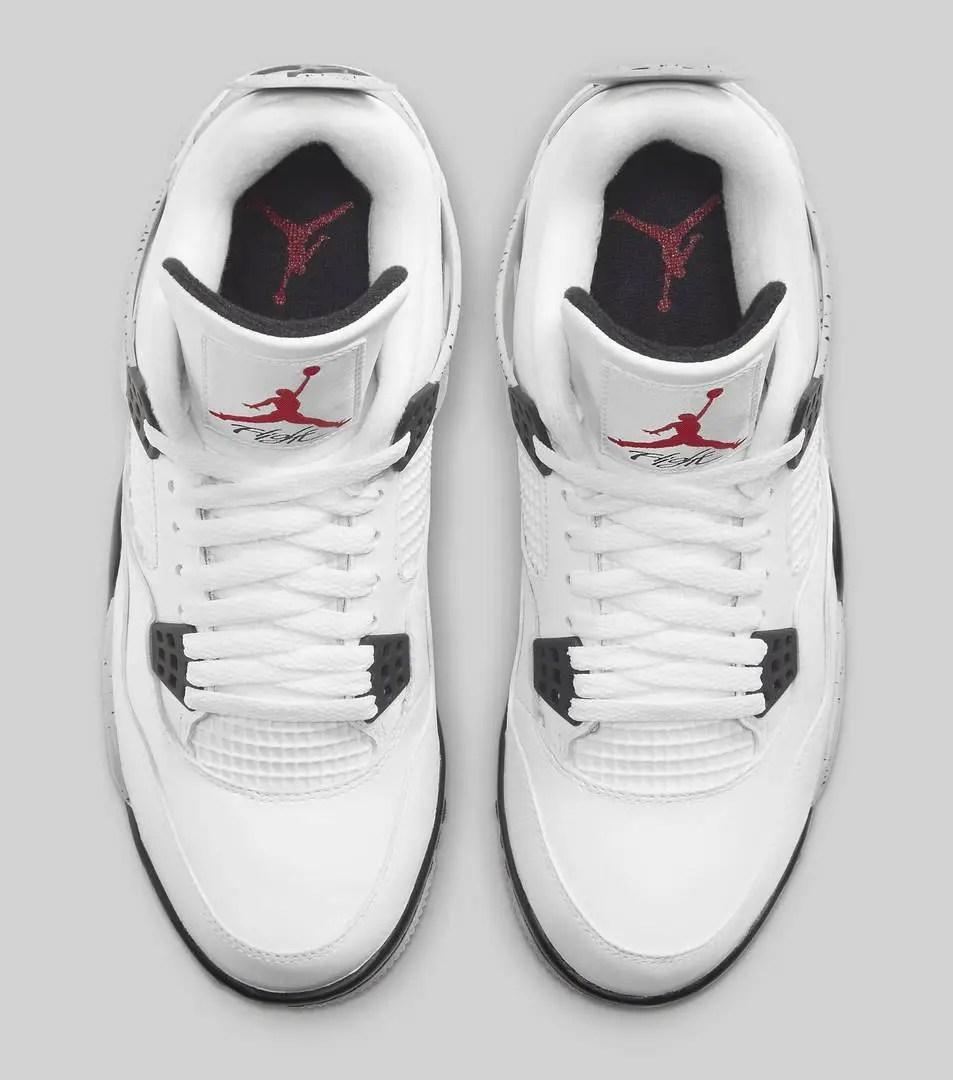 """Air Jordan 4 Golf """"White Cement"""" : La date de sortie, Où l'acheter ? ..."""