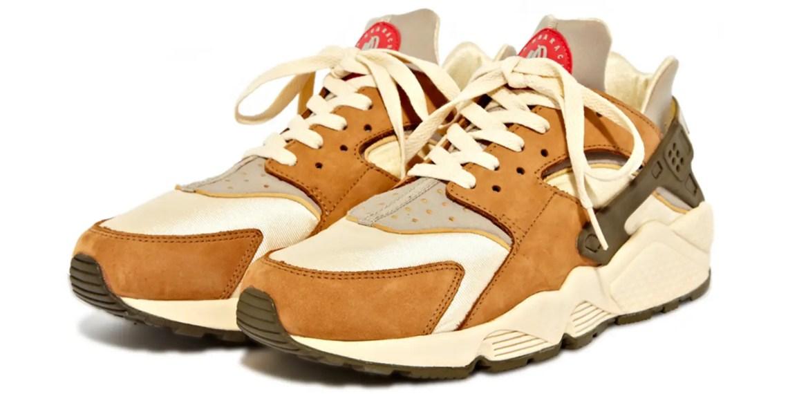 Stussy présente sa collaboration avec les Nike Huarache dans sa nouvelle collection