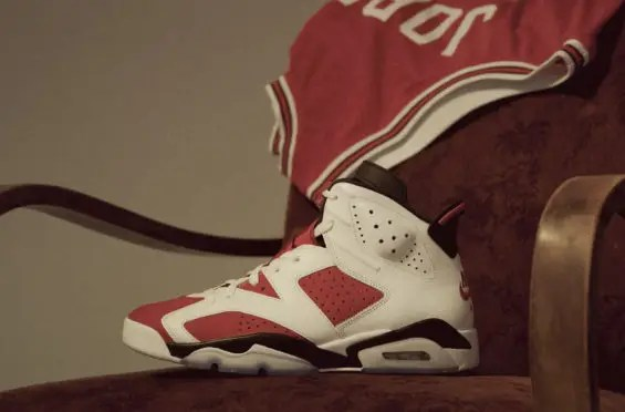 """Voici où acheter la Air Jordan 6 """"Carmine"""", dans sa forme originale !"""