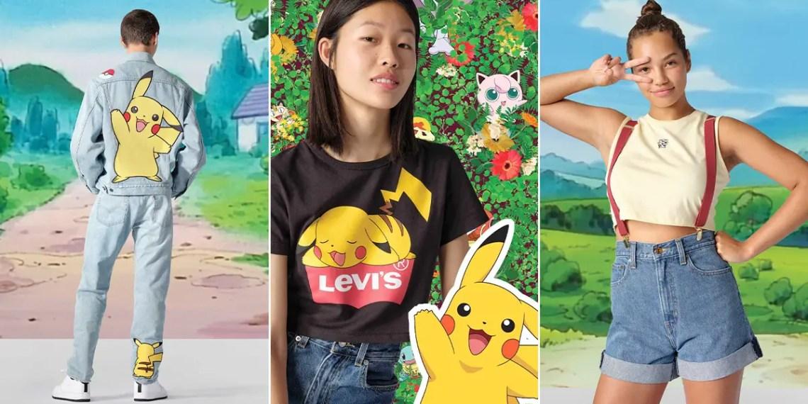 Levi's x Pokémon : c'est fait !