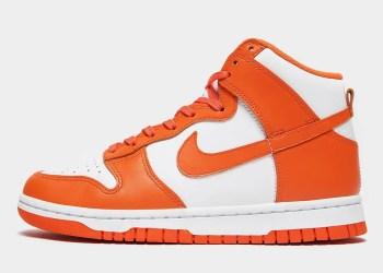 La Nike Dunk High « Syracuse » est maintenant prête à revenir