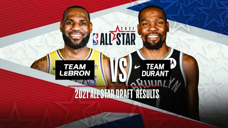 NBA All-Star 2021 : Team LeBron vs Team Durant