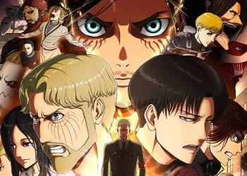 L'Attaque des Titans (Shingeki no Kyojin) saison4 partie 2 arrive en hiver 2022.