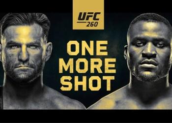 UFC 260 live stream : Comment regarder Miocic vs Ngannou 2