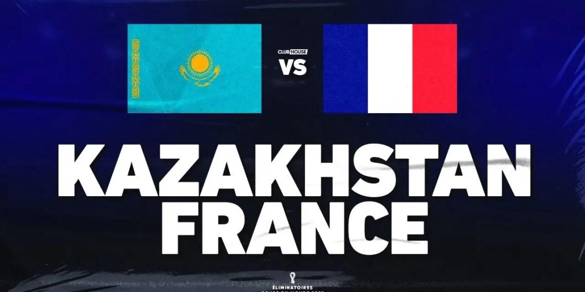 Coupe du Monde 2021/2022 KAZAKHSTAN VS FRANCE - Streaming Direct