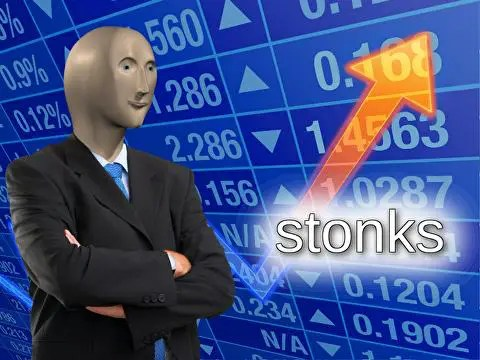 "Fortnite a finalement introduit le Stonks guy aka ""Diamond Hanz "" !"