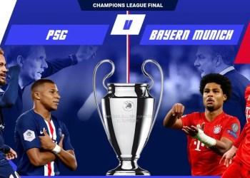 Ligue des champions - Regarder PSG vs Bayern Munich en streaming.