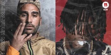 Les deux rappeurs Gazo et Heuss l'enfoiré étaient en studio