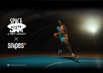 La nouvelle collaboration entre Snipes et Space Jam 2 pour la sortie du film cet été